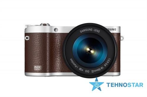 Фото - Фотоаппарат Samsung NX 300 18-55 mm II Brown