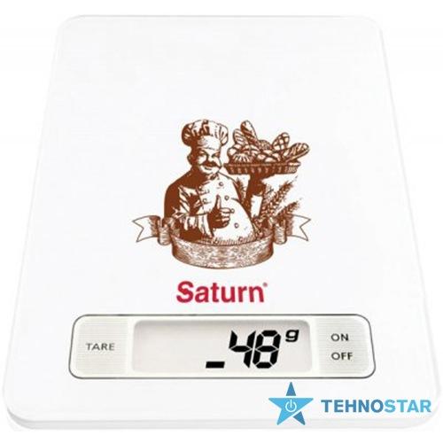 Фото - Весы кухонные Saturn ST-KS7235 Brown