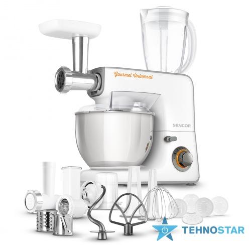 Фото - Кухонный комбайн Sencor STM 3700 WH