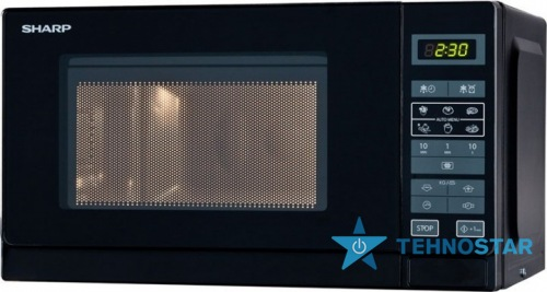 Фото - Микроволновая печь Sharp R242BKW