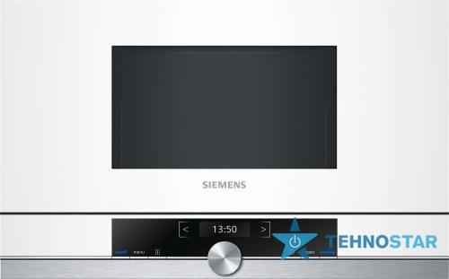 Фото - Микроволновая печь Siemens BF634RGW1
