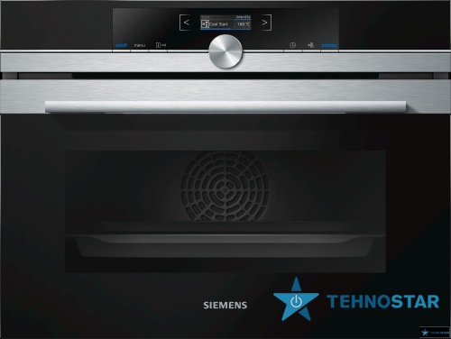 Фото - Электрический духовой шкаф Siemens CB 675 GBS1