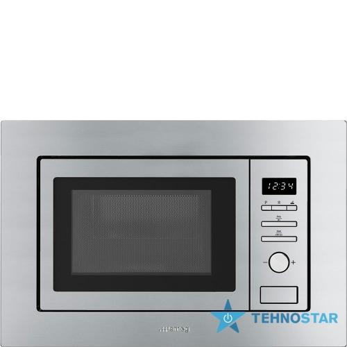 Фото - Микроволновая печь Smeg FMI020X