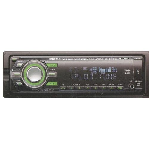 Автомагнитола Sony CDX-GT 627 UE.