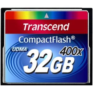 Фото - Карта памяти  Transcend Compact Flash 32 GB (400X)