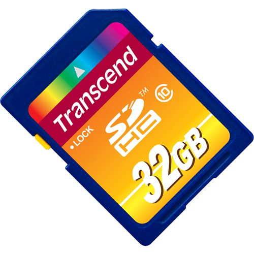 Фото - Карта памяти  Transcend SDHC 32 GB CLASS 10