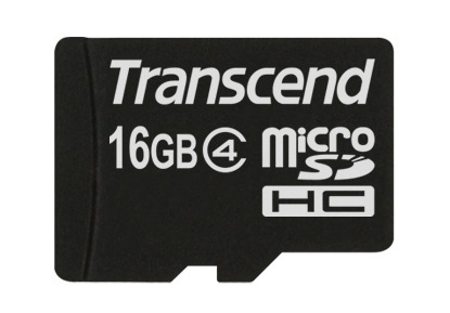Фото - Карта памяти  Transcend microSDHC 16 GB Class 4 no adapter