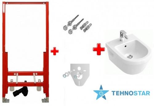 Фото - Биде Villeroy-Boch 54840001  Omnia Architectura +TECE     9.330.000 (модуль+крепеж+прокладка)