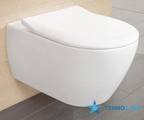 Фото - Унитаз Villeroy-Boch 5614R201 SUBWAY 2.0 Direct Flush Soft Close Slim