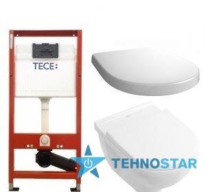 Фото - Инсталяция Villeroy-Boch 5660R001 O.NOVO+9M38S101+9.400.000 TECEbase kit (1уп)