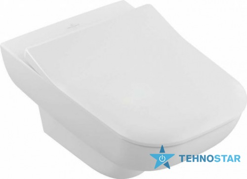 Фото - Унитаз Villeroy-Boch Direct Flush 5607R001/9M62S101 (сиденье Soft Close)
