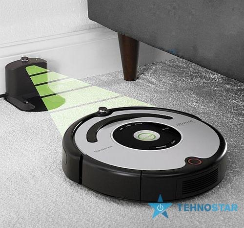 Фото - пылесос робот iRobot  Roomba 555