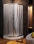 Aquaform 100-07501 HAVANA 800х1850 Хром/Скло ribbon