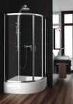 Aquaform 100-091111 NIGRA 800х1850 Хром/Скло прозоре