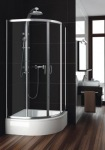 Aquaform 100-091121 NIGRA 800х1670 Хром/Скло прозоре