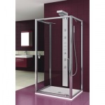 Aquaform 103-06087 SALGADO 800х1900 Хром/Скло прозоре
