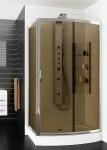 Aquaform 105-610101 Serengeti 900x1200 Хром/Скло коричневе