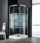 Aquaform комплект Lugano: кабина, поддон, ножки, душевая панель