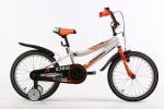 Ardis STAR BMX 18 10 Белый/оранжевый/фиолетовый