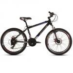 Ardis Silver Bike 500 26 / рама 16 Черно-серый-(синяя полоса) глянец