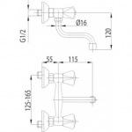 Armatura 300-290-00 STANDARD (рукоятка B)