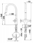 Armatura 343-214-00 SYMETRIC