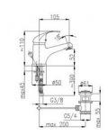 Armatura 5512-854-00 ECOKRAN (ручка Atut)