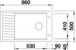Blanco 520489 ELON XL 8S