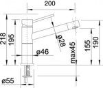 Blanco 521738 ALTA COMPACT