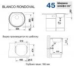 Blanco RONDOVAL 513313