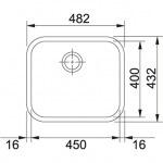 Franke GAX 110-45 (122.0021.440)