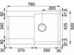 Franke MRG 611 оникс (114.0306.815)