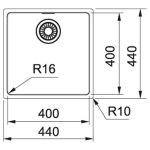 Franke MRX 110-40 (122.0598.646)