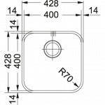 Franke SVX 110-40 полированная (122.0039.092)