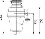 Franke TURBO PLUS TP-125 (134.0287.933)