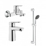 Grohe 123265S BauEdge набор для ванны (23330000+32820000+27948000)