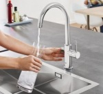 Grohe 31455000 Blue Home OHM sink C-spout EU