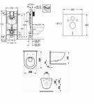 Grohe 38721956+ Laufen Pro (H8619560000001 + 38721001 + 37131000)