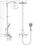 Hansgrohe 27113400 Raindance Select Showerpipe 360