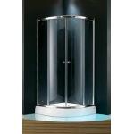 Koller Pool NF10 1000х1000x1850 chrome, clear