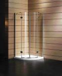 Koller Pool AF2E 900x900x1850 chrome; transparent