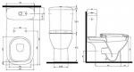 Kolo STYLE L29000000 (сиденье дюропласт) 3/6 л