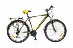 Optimabikes 26 COLUMB AM 14G St с багажн. черно-желтый 2015