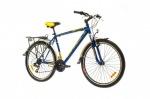 Optimabikes 26 COLUMB AM 14G     St с багажн. сине-жёлтый  2015