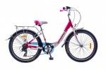 Optimabikes 24 VISION Vbr Al с багажн. бело-красный 2015