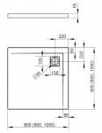 Radaway 4AC1010-01Argos C 1000