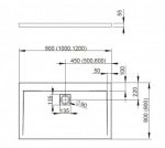 Radaway 4AD810-01 Argos D800 x 1000