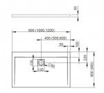 Radaway 4AD89-01 Argos D 90x80
