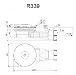Radaway R400Slim (R339)