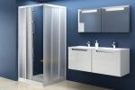 Ravak ASRV3-75 + ASRV3-80 Transparent White